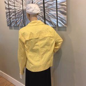 Yellow cotton jacket